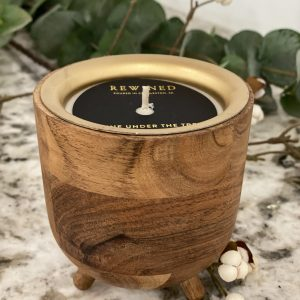 Rewined Wine Under The Tree Barrel Aged Candle