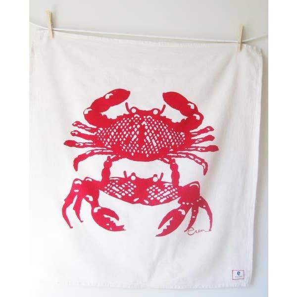 Erin Flett - Crabbies Tea Towel