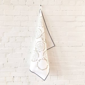Erin Flett - Oatmeal Dandelion Linen Tea Towel