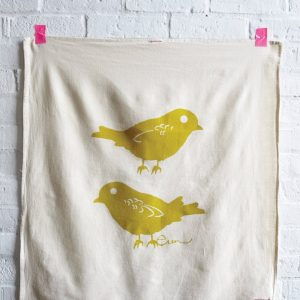 Erin Flett - Chickadee Tea Towel