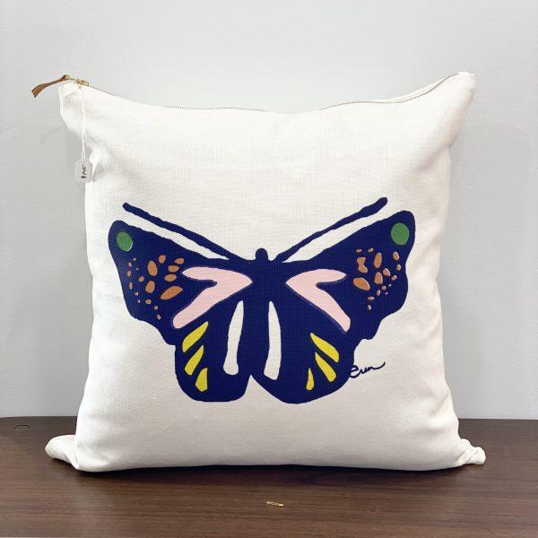 """Erin Flett - 20"""" X 20"""" Butterfly Pillow"""