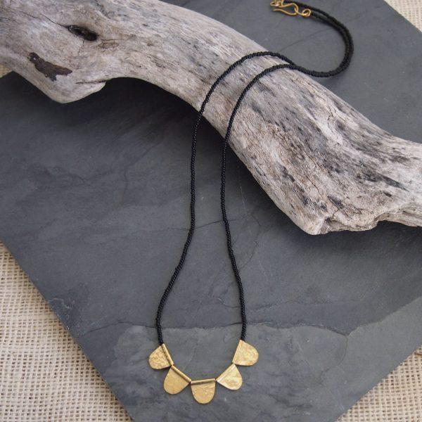 Amsha - Jua Necklace: Black