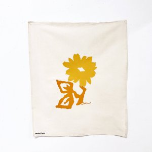 Erin Flett - Mango Flower Tea Towel
