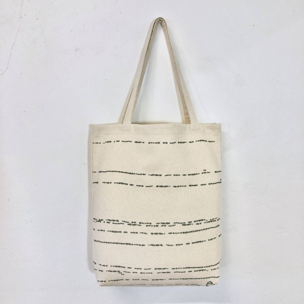 Erin Flett - Worn Black River Carry All Bag