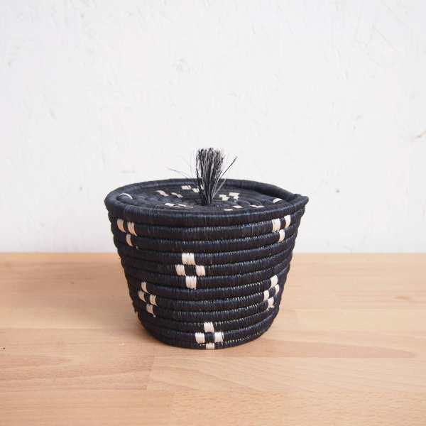 Amsha - Munazi Mini Lidded Basket