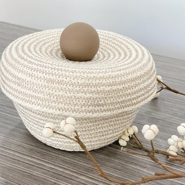 Brklyn Home - Medium Knob Storage Basket