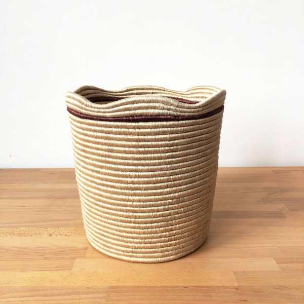Amsha - Wavy Storage Basket: Murongo