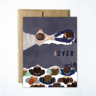 Ferme à Papier - Four Ever Wedding Card