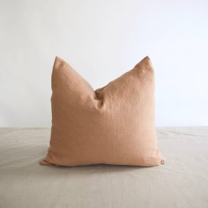 Brklyn Home - Square Washed Linen Pillow