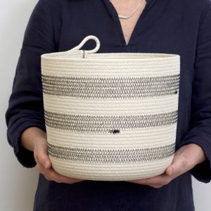 Woven Grey - Woven Bucket