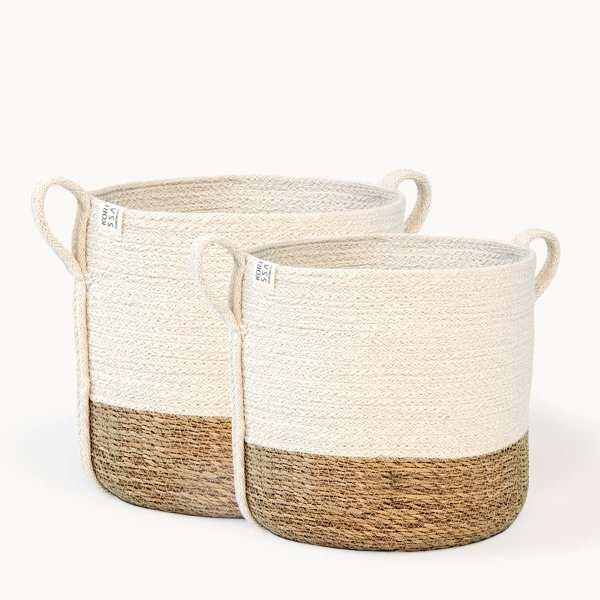KORISSA - Savar Basket with Side handle