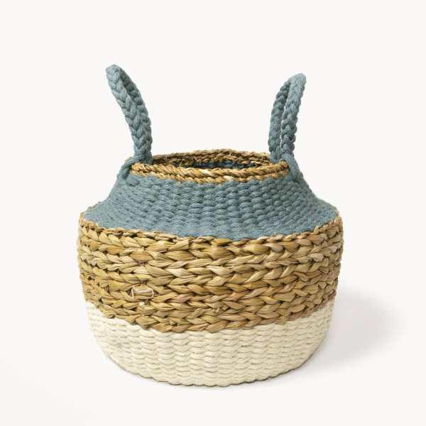 KORISSA - Ula Blue Foldable Basket