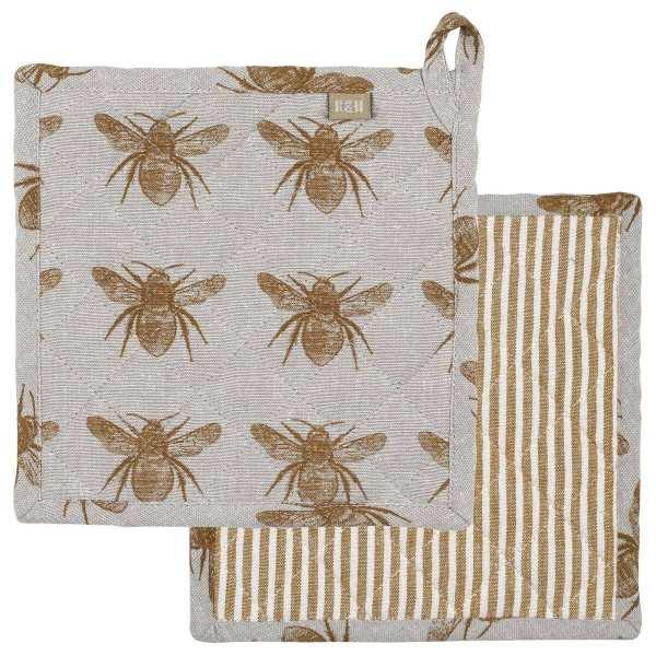 Raine & Humble - Mustard Honey Bee Trivet