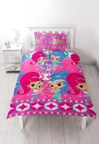 Shimmer & Shine 'Zahramay' Reversible Rotary Single Bed ...