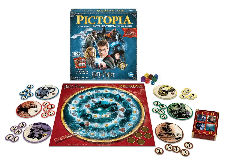 Harry Potter Pictopia Edition The Picture Trivia Board