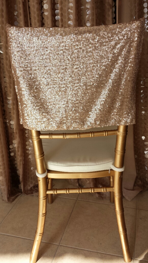seat covers for chairs with arms eames chair montreal linens and beyond light blush glitz cap specialty