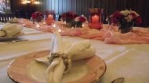 Bridal Luncheon Pretty In Pink Linen