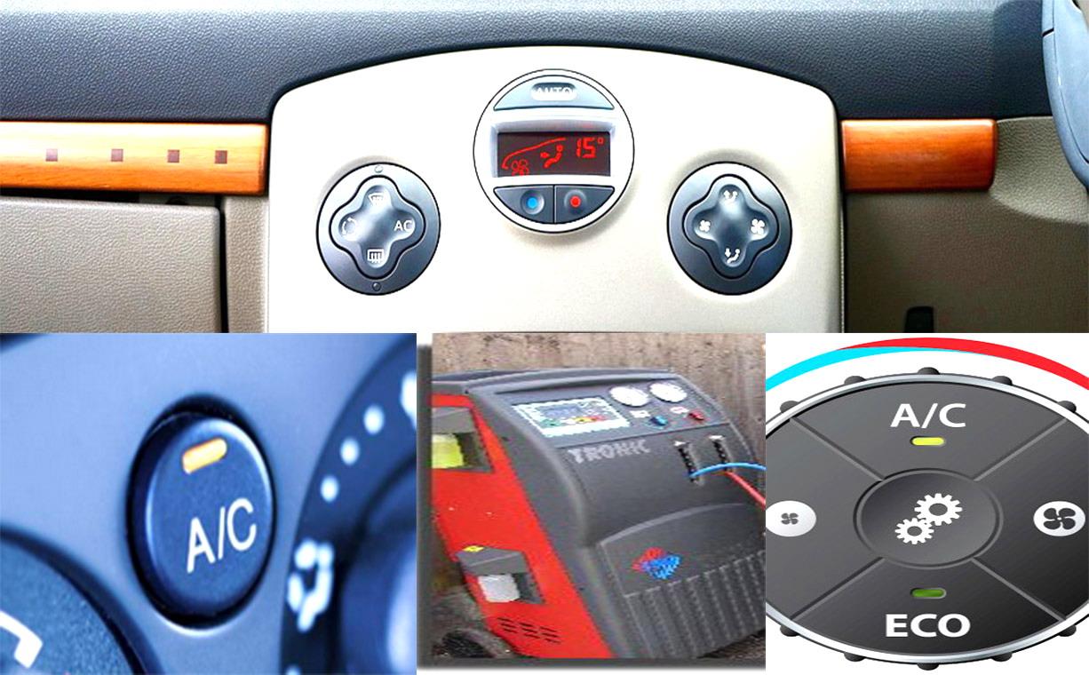 Обслужване на климатик на кола. Предпазни мерки при ползване Чести повреди Какъв газ / фреон / да заредим на климатика Ползи при ползване климатик автоклиматик Части по Климатичната Система BMW MERCEDES AUDI OPEL PEJO RENO el perka upravlenie klimatronik