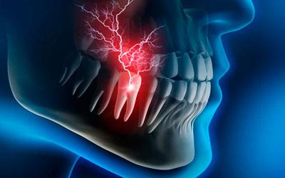 치아 통증 - 치과 미소 라인