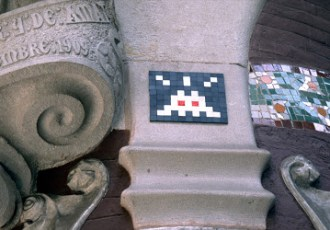 I saw my first Space Invader!
