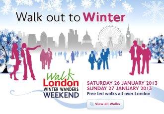Walk London: Winter Wanders