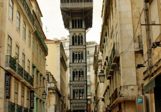 Lisbon: Looking skywards
