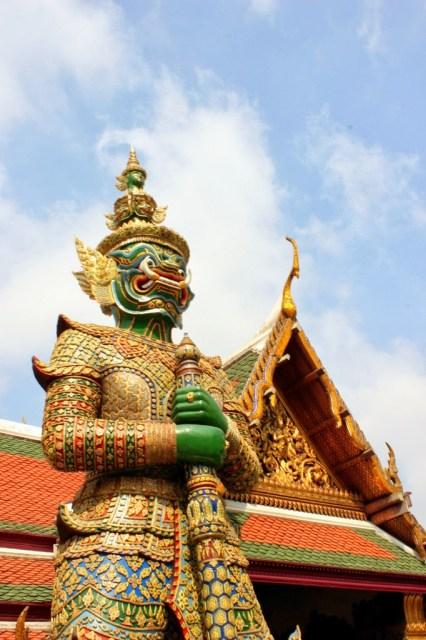 Yaksha, Wat Phra Kaew, Grand Palace, Bangkok