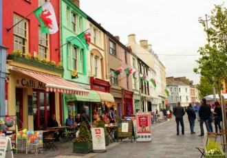 Conquering castles in Caernarfon, Wales