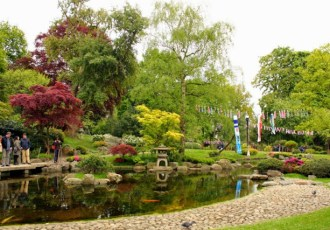 Kyoto Garden, a tranquil spot in central London