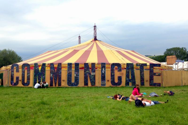 Communicate at Glastonbury