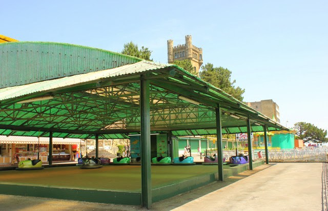 Monte Igueldo's theme park