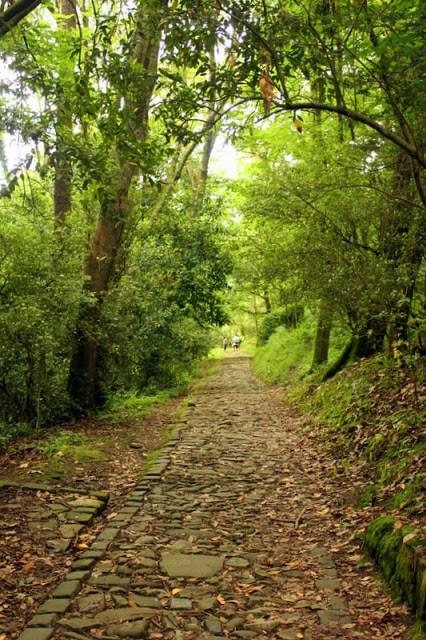 Walking trail, Monte Urgull