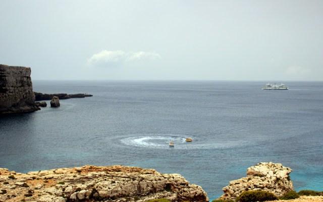 Comino's coastline