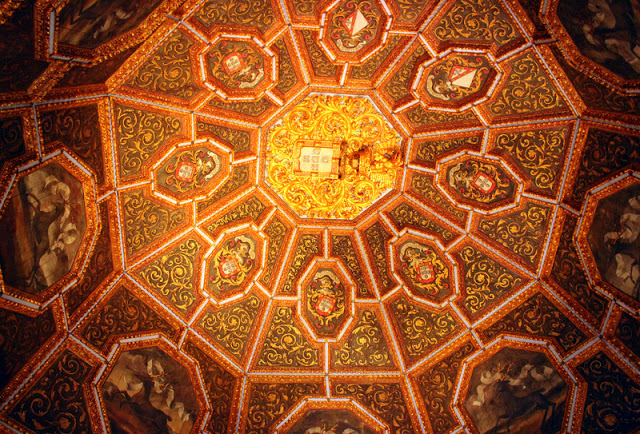 Ceiling at Sintra National Palace