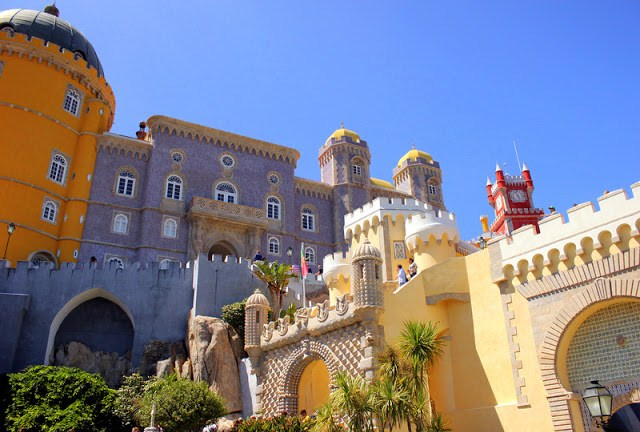 Exterior of Pena National Palace
