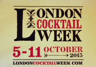 Taking a first sip of London Cocktail Week