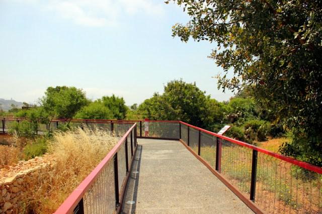 Walkway to the Ggantija Temples, Gozo