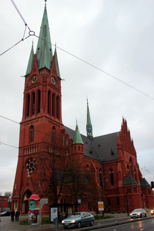 St James's Church in Torun