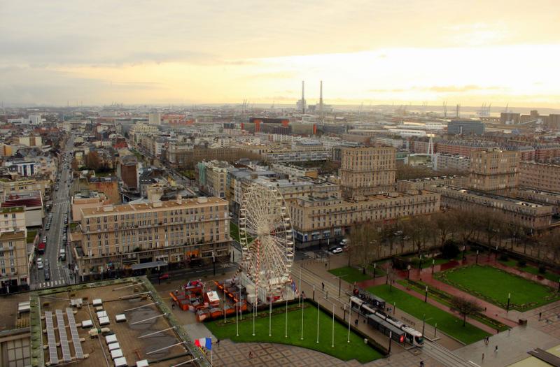 Le Havre City Centre View