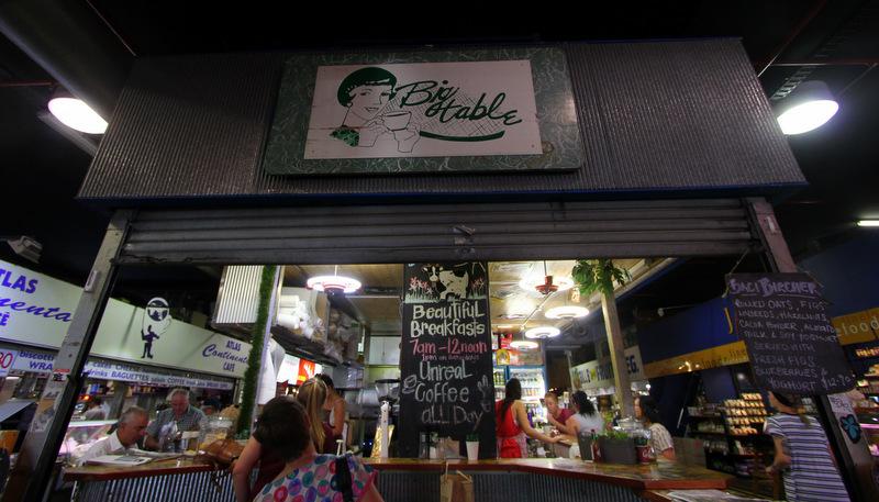 Big Table, Adelaide Central Market