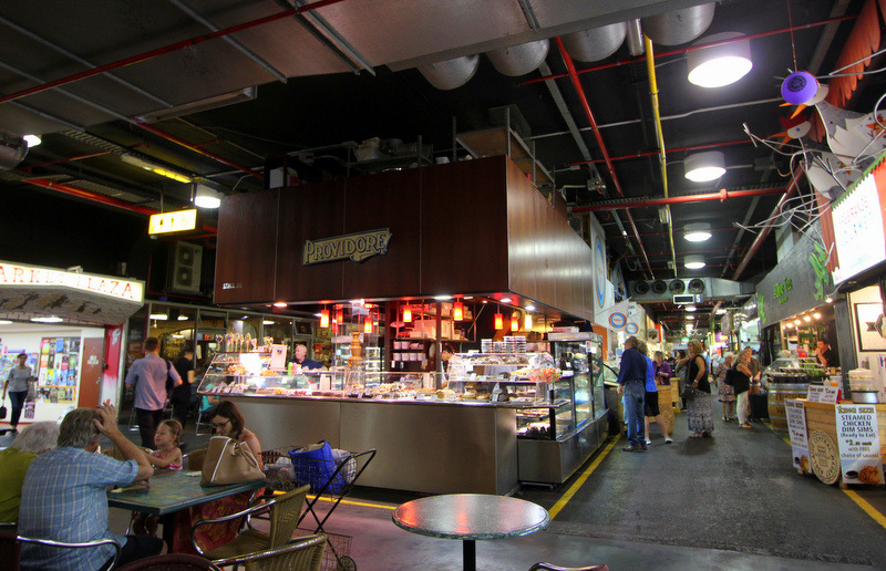 Central Market dining area