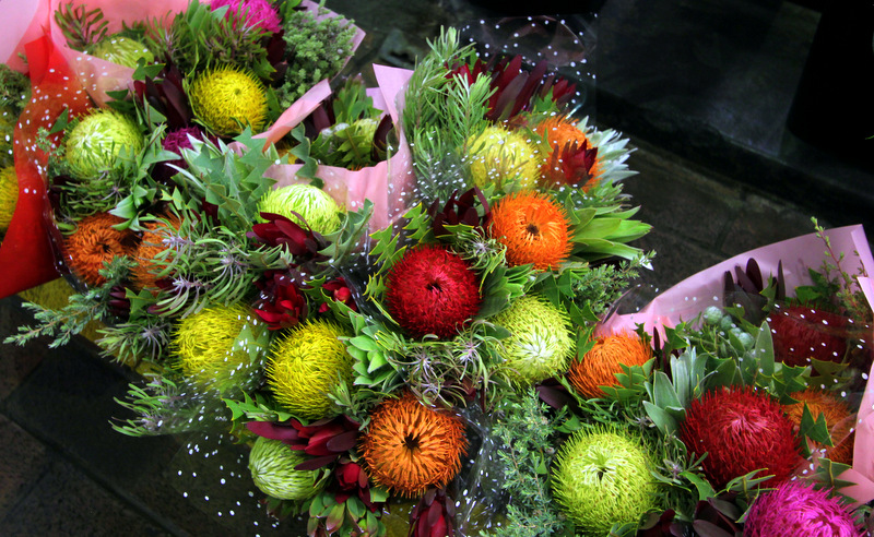 Flowers at Adelaide Central Market