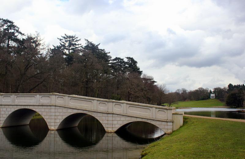 Five Arch Bridge at Painshill Park