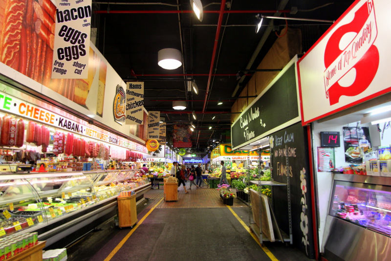 Inside Adelaide Central Market
