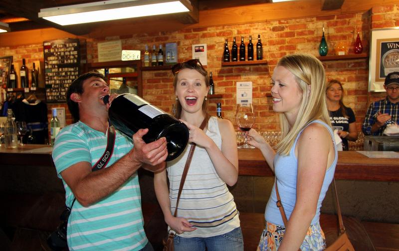 Wine tasting in McLaren Vale