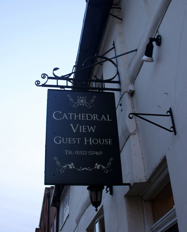 Sign of Cathedral View Guest House