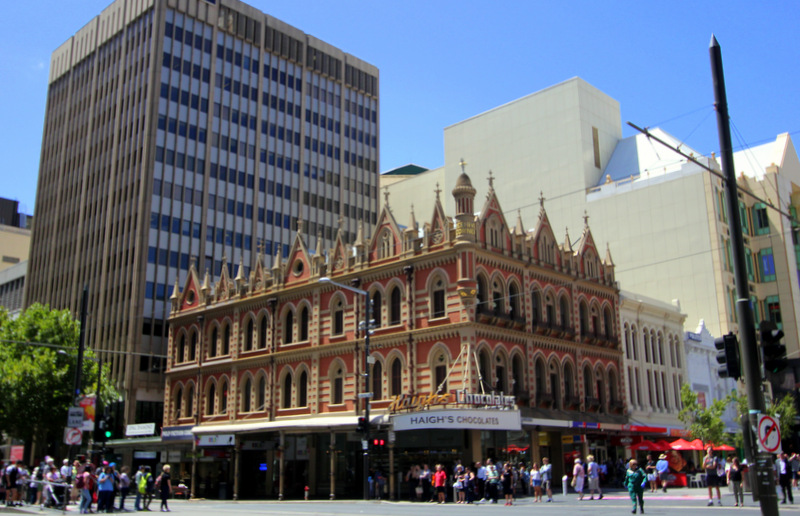Corner of Rundle Mall