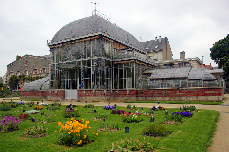 Greenhouses at Jardin des Plantes
