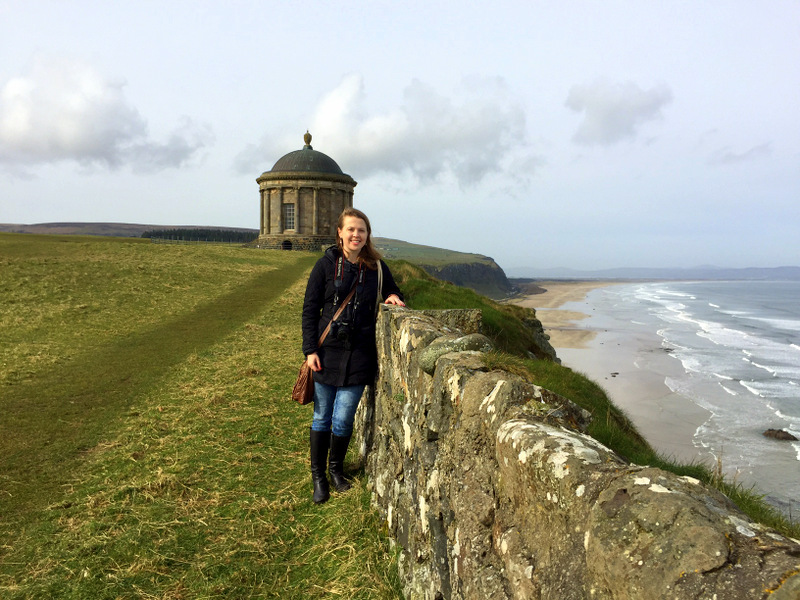 Kasha at Mussenden Temple