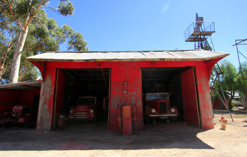 Old Tailem Town fire station